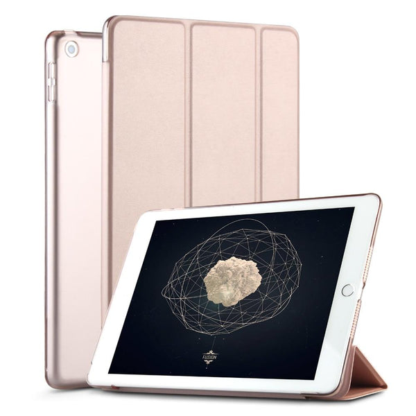 ZVRUA Ultra Slank PU Lederen Smart Case Voor Apple IPad Mini 1, 2 En 3 Opklapbare Voorklep En Slaap/Wekfunctie