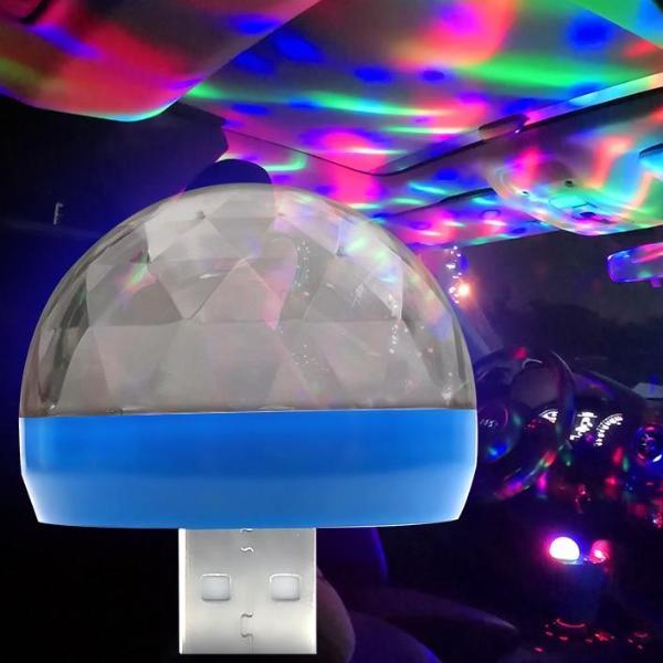 Decoratieve LED Lamp Voor Auto's Of Pc USB Aansluiting