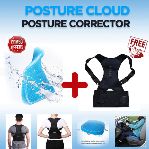 Combo: PostureCloud™ Spinal Alignment + Magnetic Posture Corrector