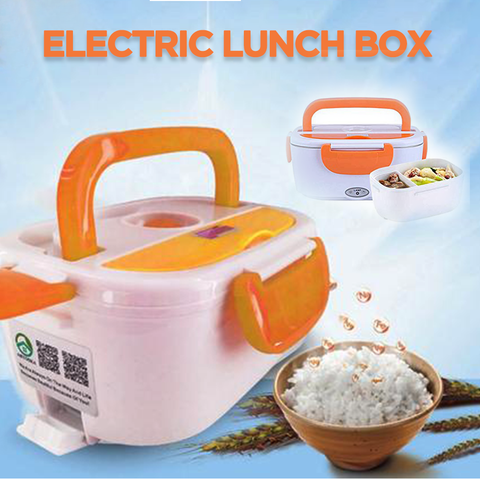 Electric Heating Lunch Box - FREE Wall Charger!