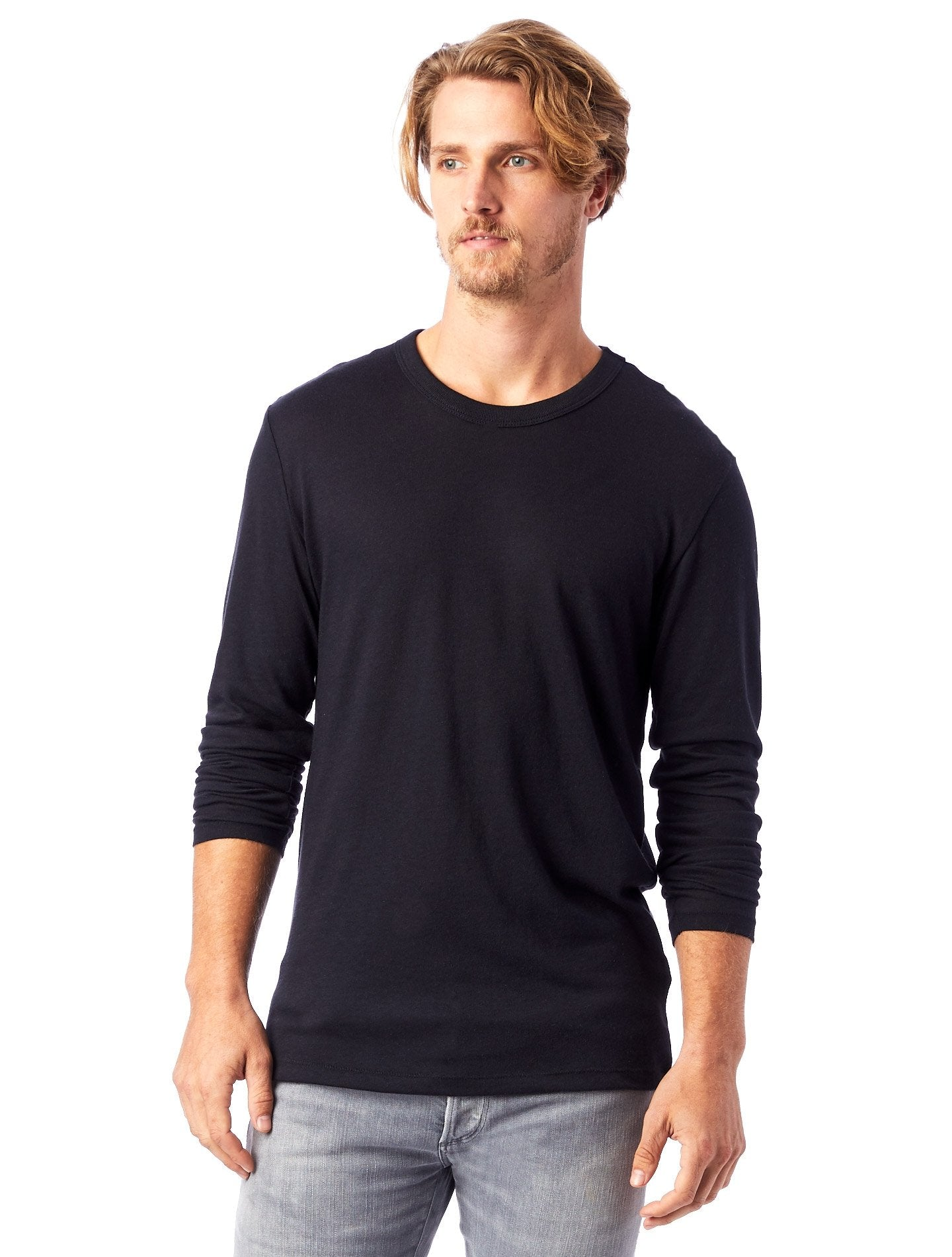 Alternative | Keeper Long Sleeve in Black at SHiFT Bainbridge
