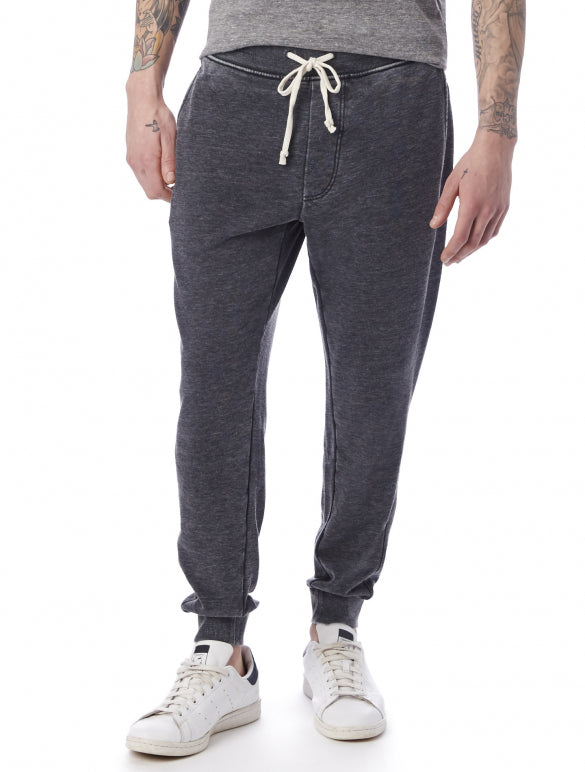 Alternative | Campus Terry Jogger in Washed Black