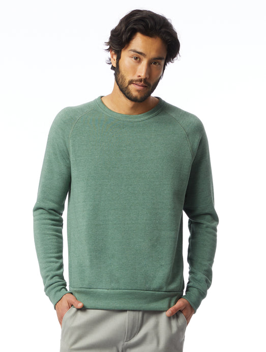 Alternative | Champ Eco-Fleece Sweatshirt in Dusty Pine