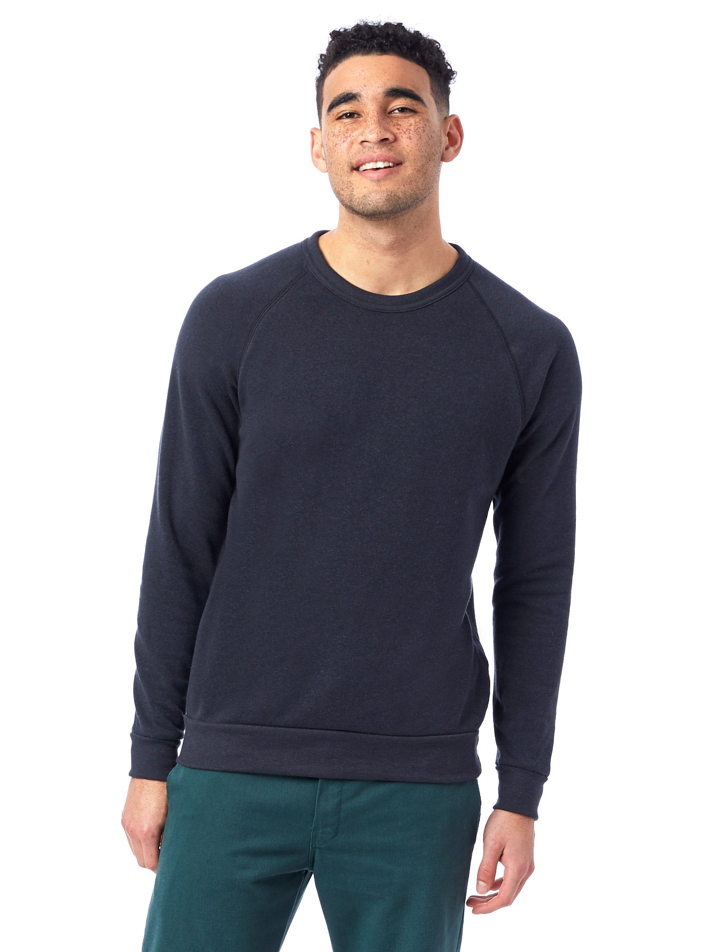 Alternative | Champ Eco-Fleece Sweatshirt in Eco Black