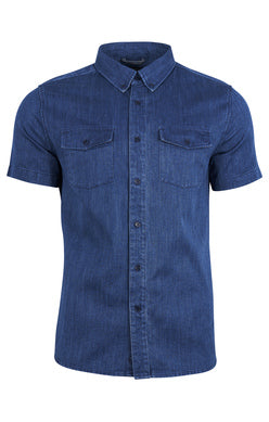 United by Blue | Indigo-Dyed Button Down