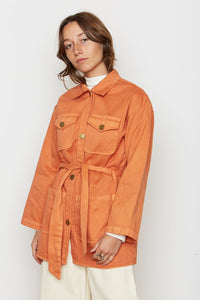 Backbeat | Safari Jacket in Raw Sienna