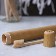 Load image into Gallery viewer, BKIND | Bamboo Case for Toothbrush