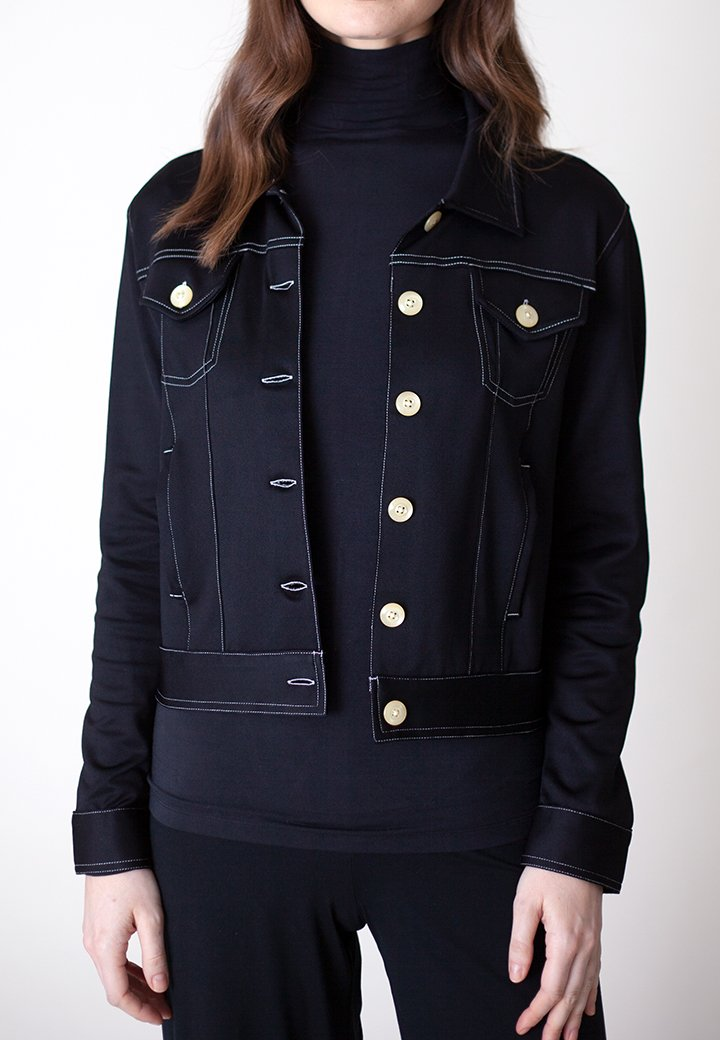 Buki | Neo-Tech Jacket in Black