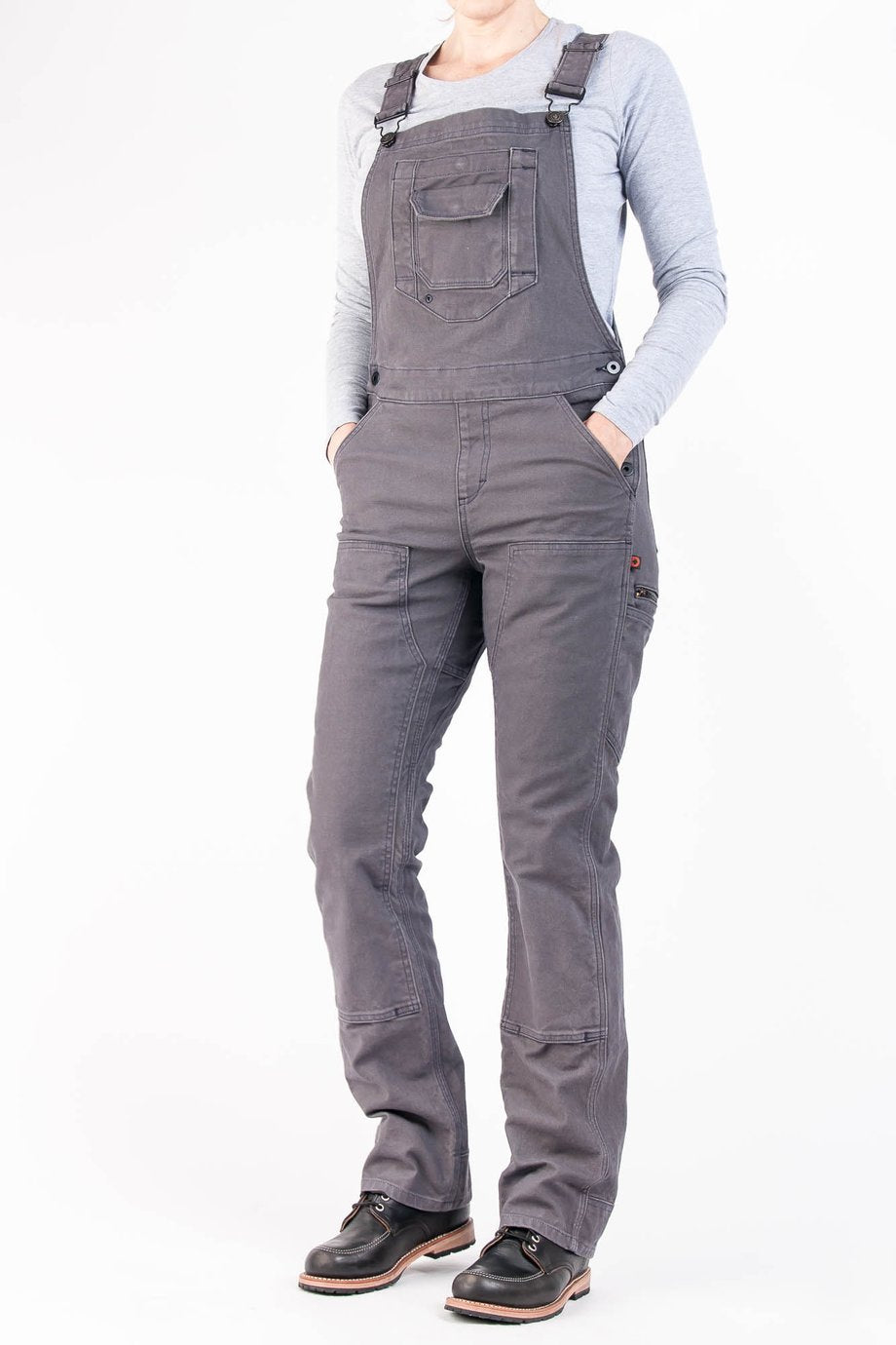 Dovetail | Freshley Overall in Dark Grey at SHiFT Bainbridge
