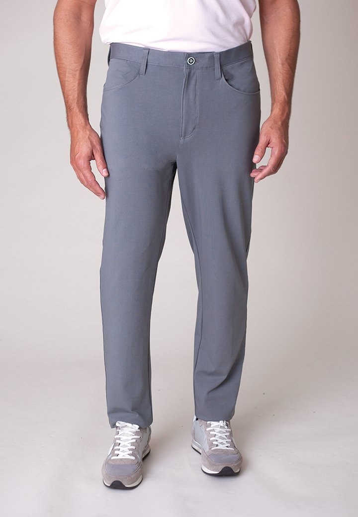 Buki | Five-Pocket Pant in Gray