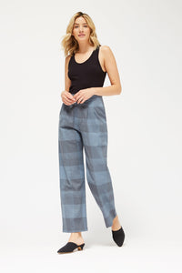 LACAUSA | Dylan Trousers in Plaid