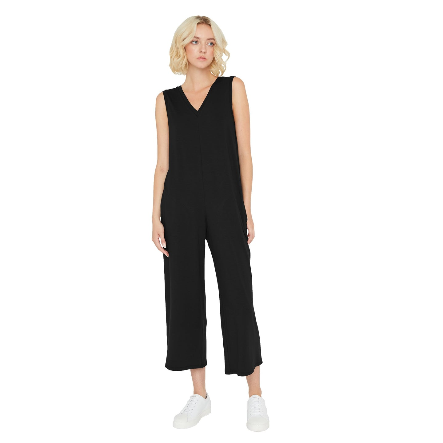 Sarah Liller | Rosaline Jumpsuit in Black