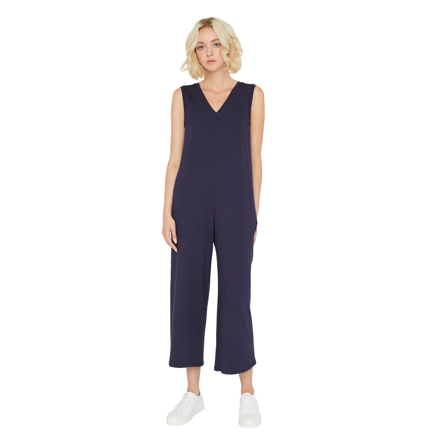 Sarah Liller | Rosaline Jumpsuit in True Navy