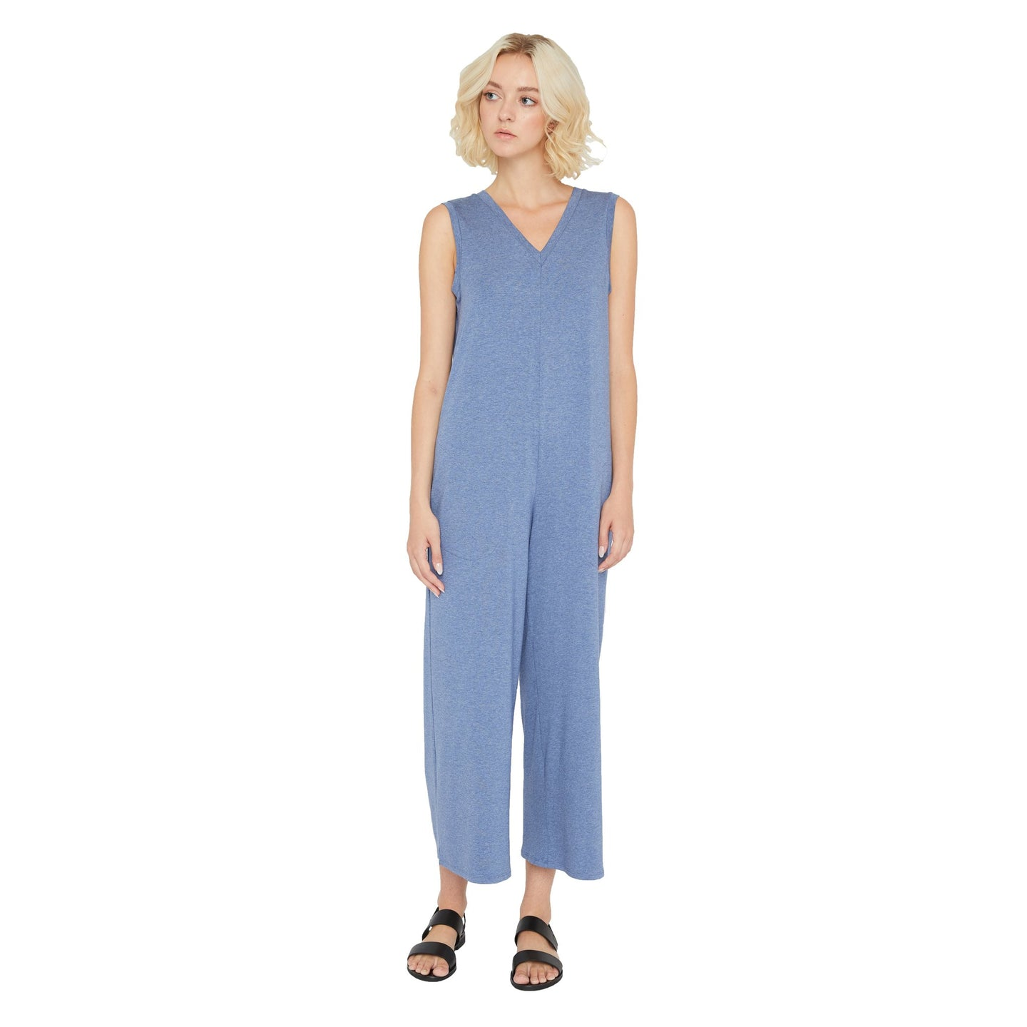 Sarah Liller | Rosaline Jumpsuit in Chambray
