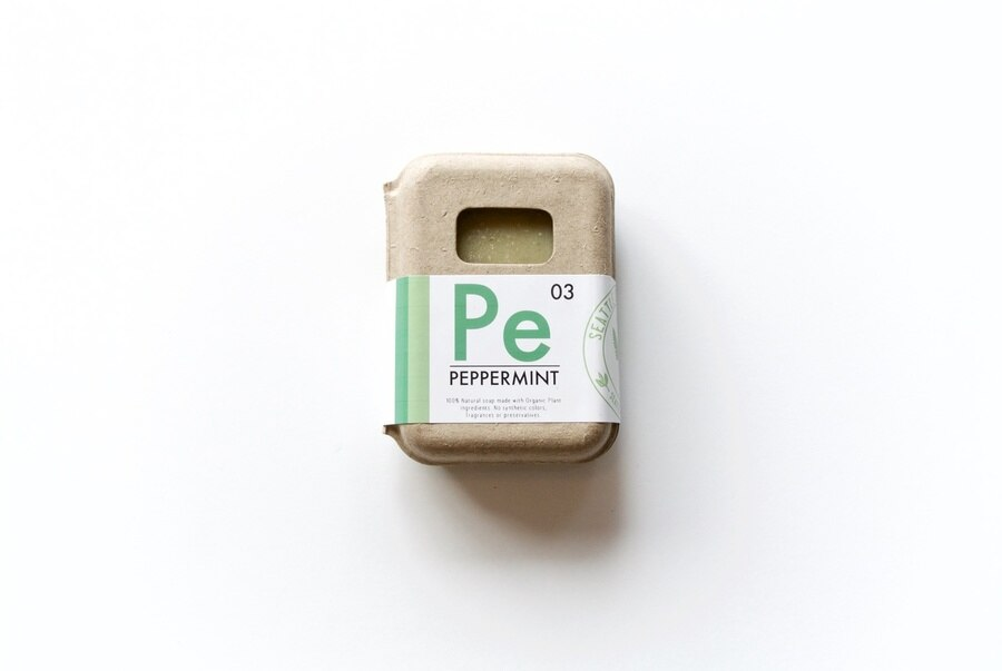 Seattle Seed Co | Peppermint Organic Soap