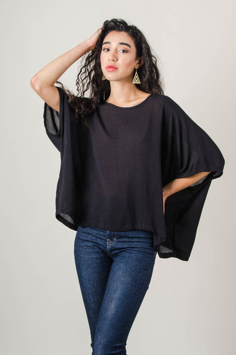 Tonle | Nearady Top in Black