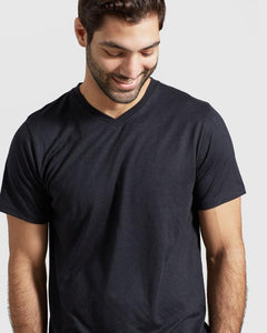 United By Blue | Mens Standard V-Neck in Black