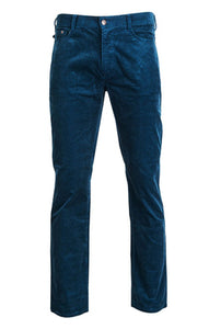 United By Blue | Mens Field Corduroy Pant in Orion Blue
