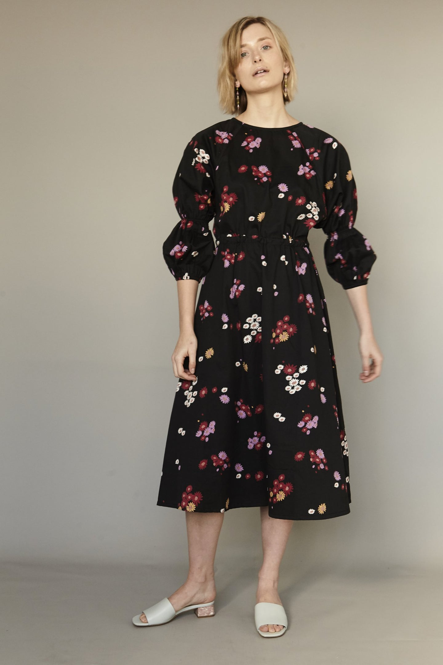 Mane Project | Wise Dress in Black Floral