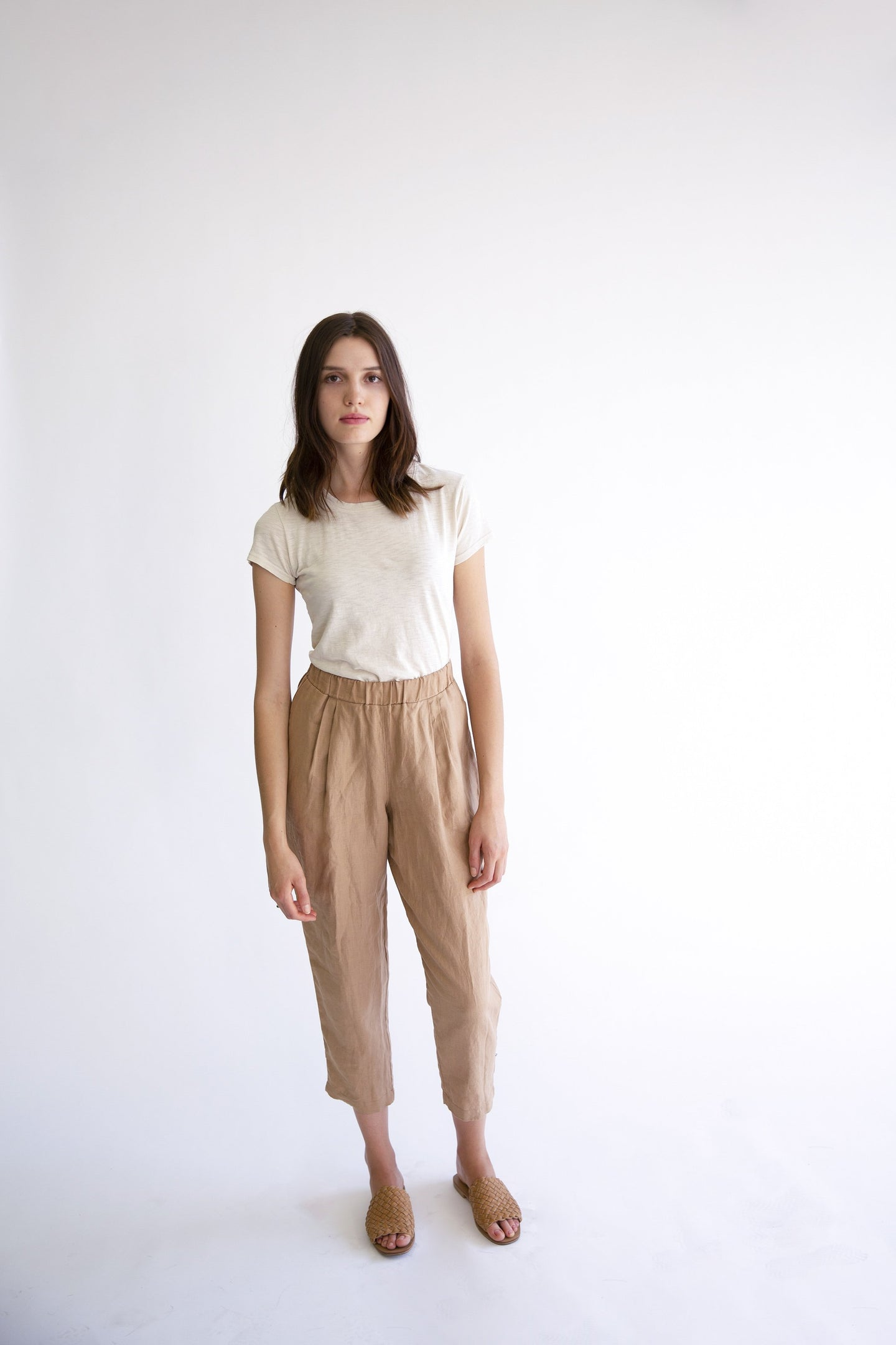 It Is Well | Pull-on Pant in Almond