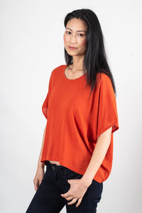 Tonlé | Nearady Top in Tomato