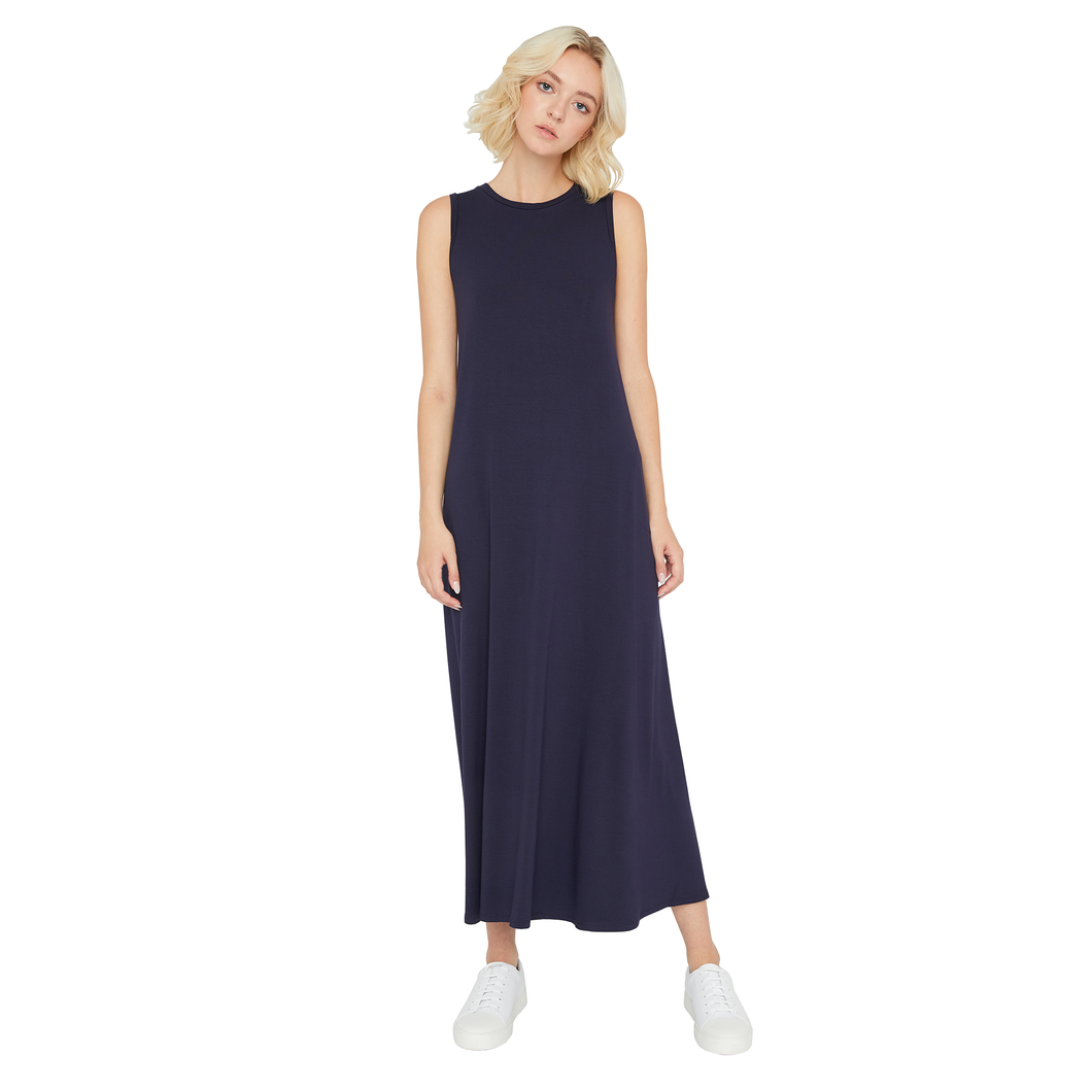Sarah Liller | Josephine Dress in True Navy