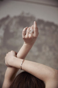 'Looped' Ring
