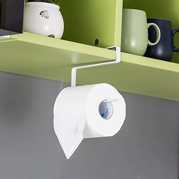 Roll Paper Towel Rack Kitchen Cupboard Hanging
