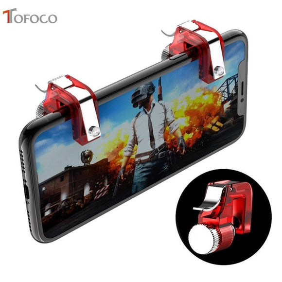 PUBG Mobile Game Fire Shooter Controller L1 R1 Button