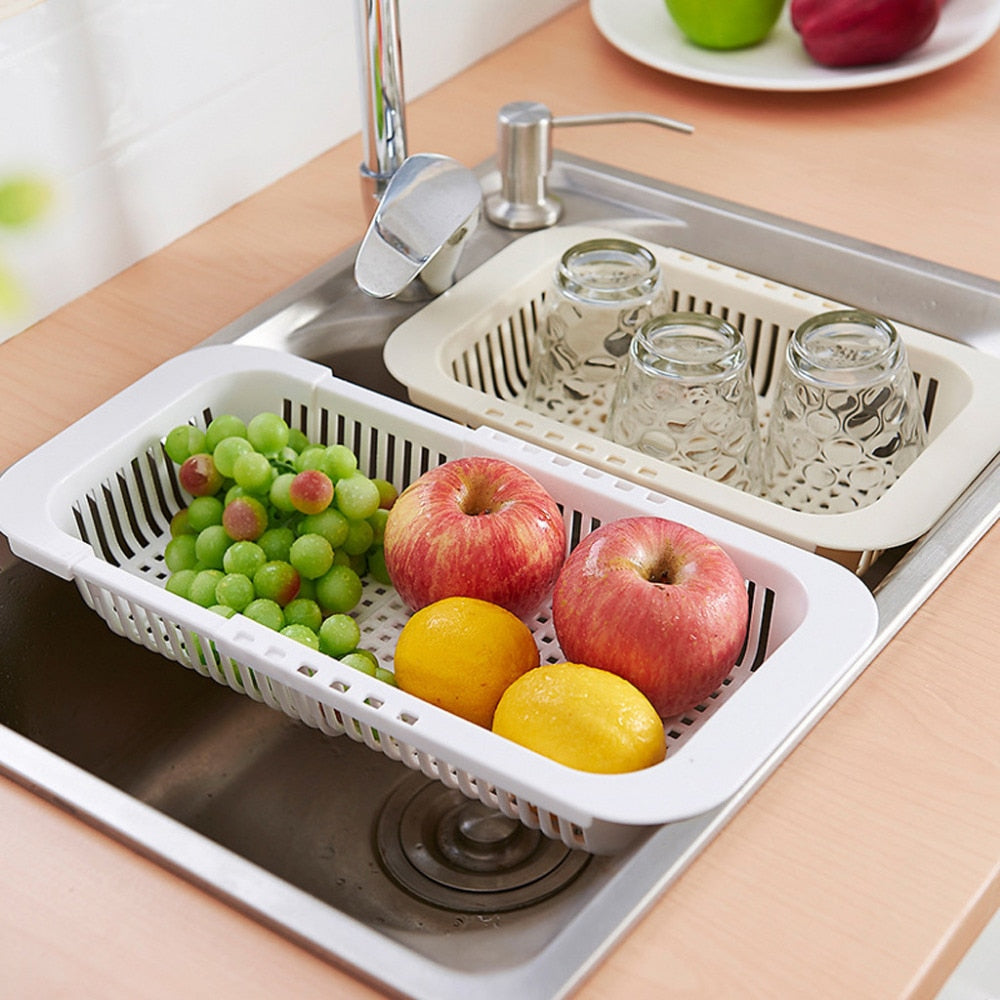 Retractable Sink Drain Basket