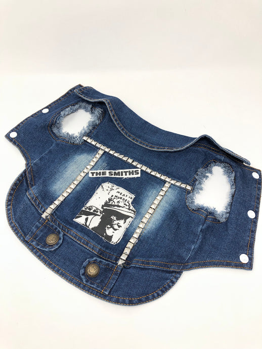 Denim Vest, Small