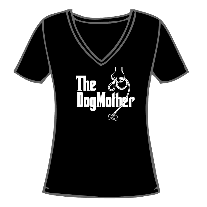 T-shirt, The DogMother Misses V-Neck