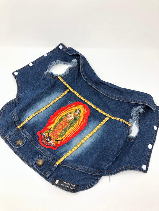 Denim Vest, Medium