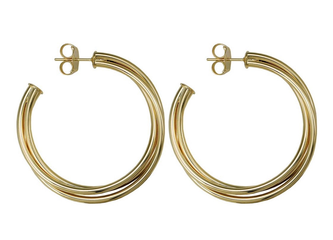 Sheila Fajl Twisted Sisters Hoops