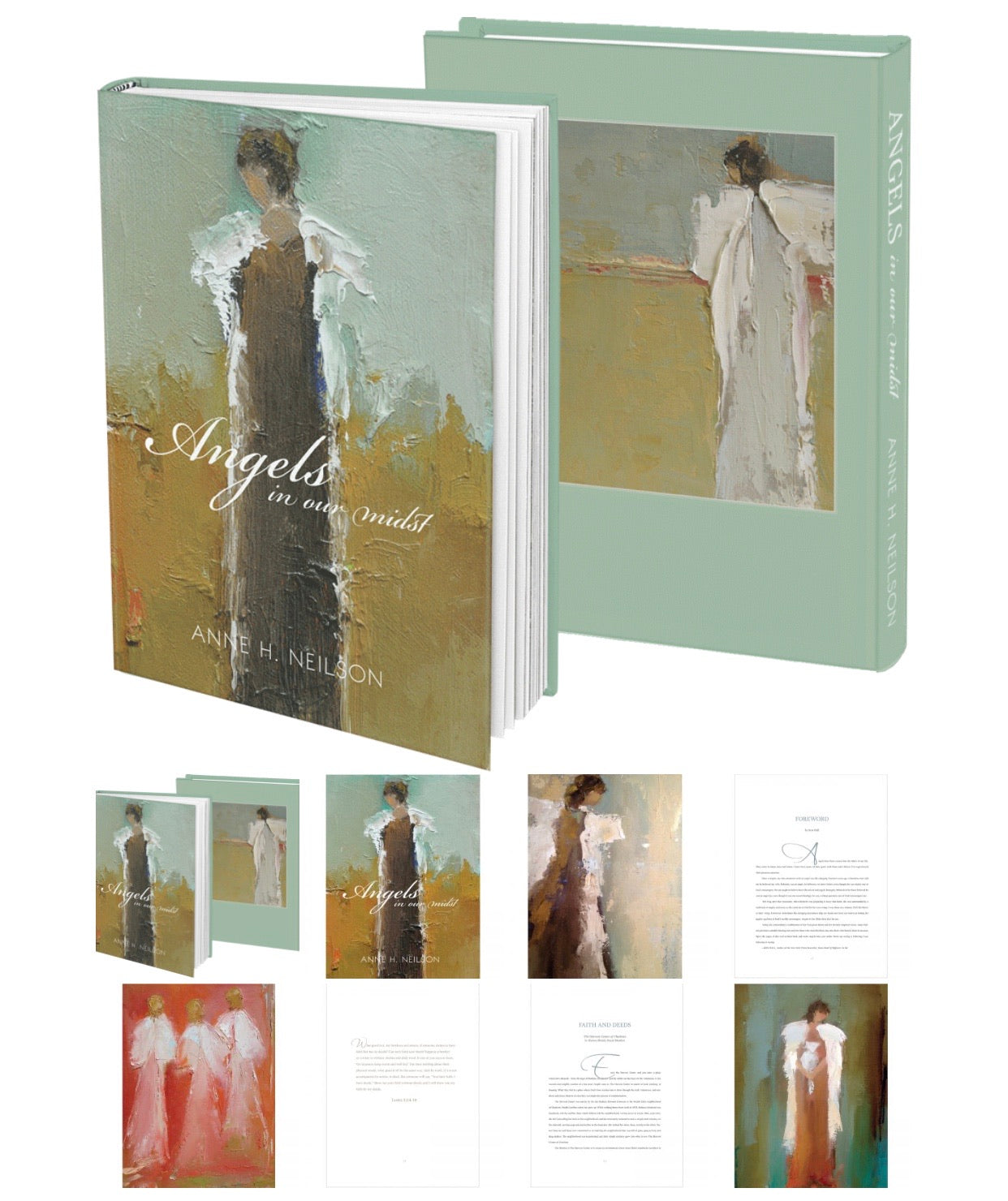 Anne Neilson Table Book Angels in our mist