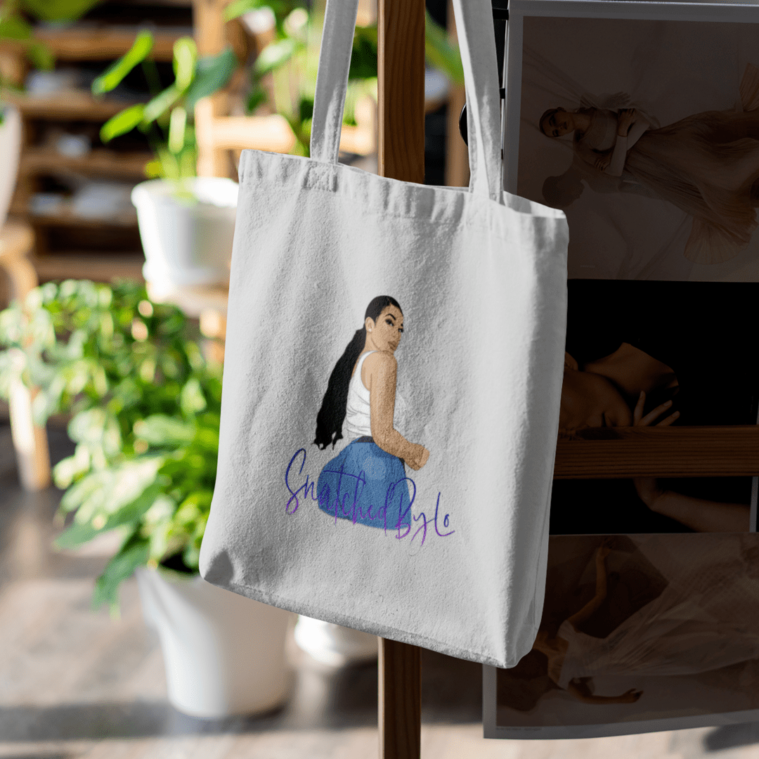 Snatched By Lo Logo Tote Bag - MUMBOD