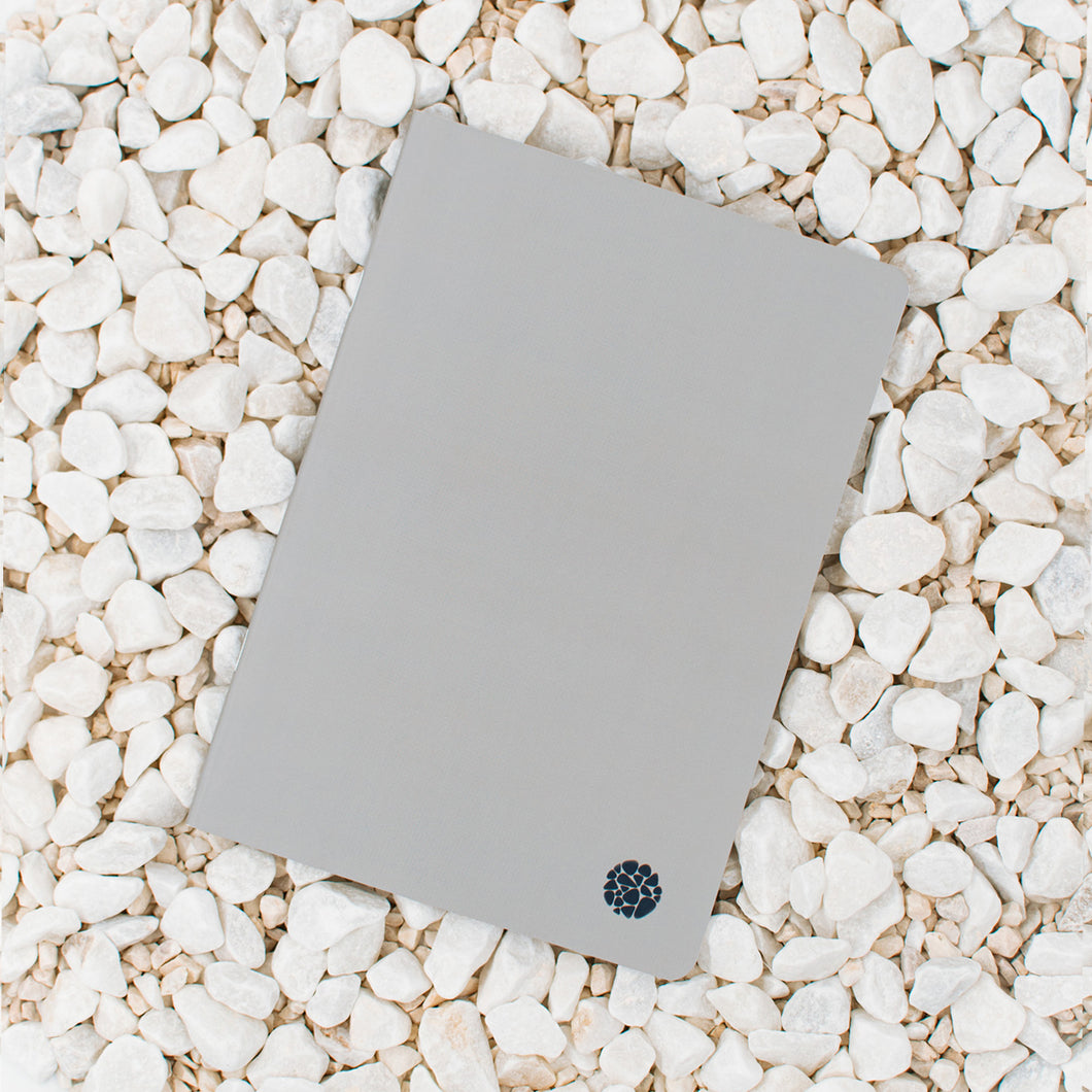 Stone Paper Notebook - Softcover Gray