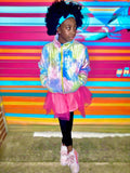 Over the Rainbow Puffer Coat
