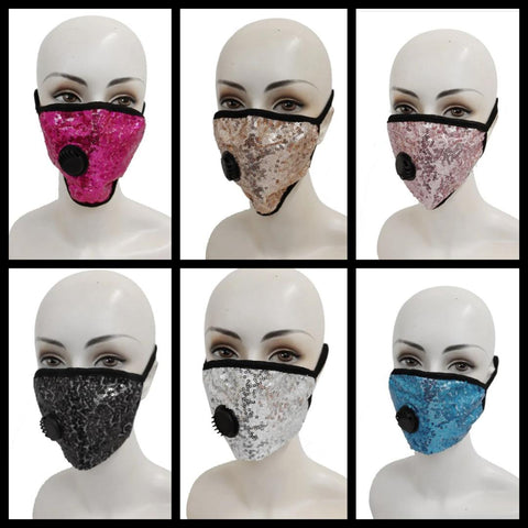 Adult Sequins Mask