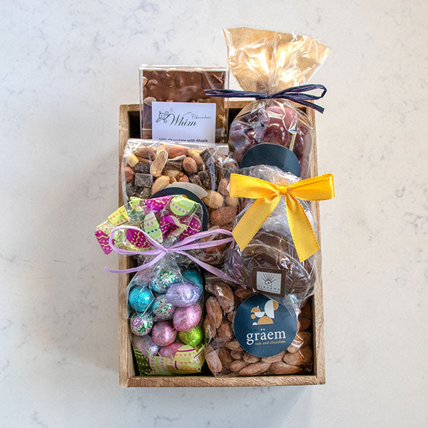 Easter Nut and Chocolate Crate