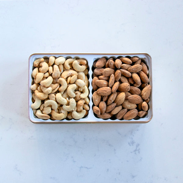 Cashew and Almond Tin