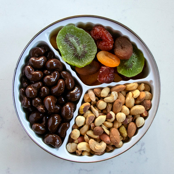 Nuts, Chocolate, Dried Fruit Tin - Large