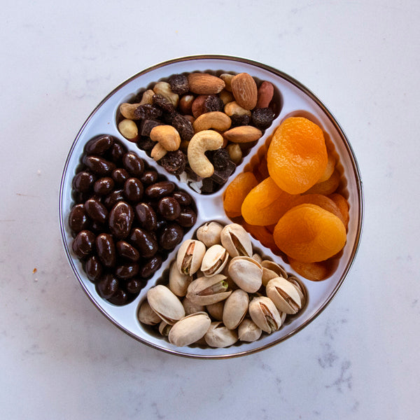 Nuts, Chocolate, Dried Fruit Tin - Small