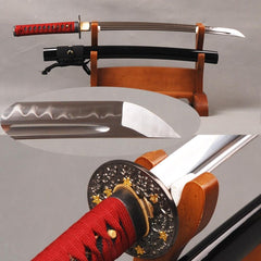 Iato Clay Tempered Carbon Steel Wakizashi