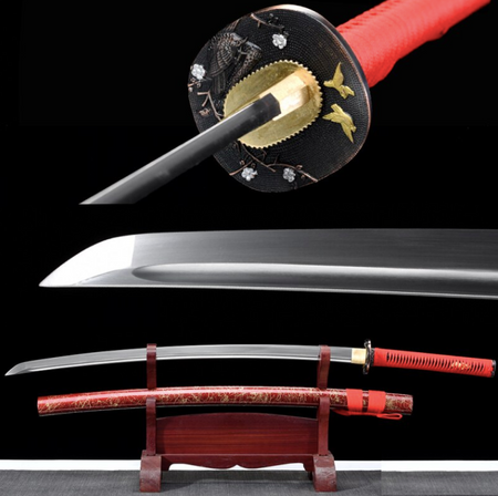 Adriano High Carbon Steel Katana Samurai Sword