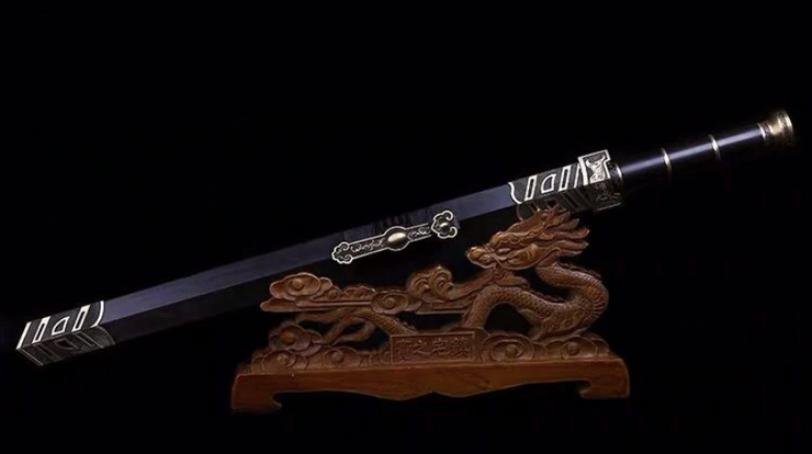 Authentic Folded Ru Yi Chinese Jian Sword