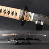 Hosokawa Clay Tempered Folded Steel Katana Samurai Sword