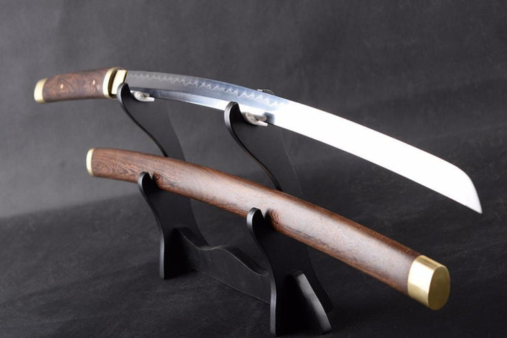 Achara Clay Tempered Folded Steel Katana Samurai Sword