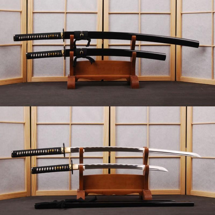 Arkady Carbon Steel Samurai Sword Set