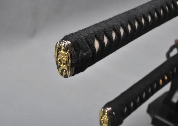 Artyom Carbon Steel Samurai Sword Set